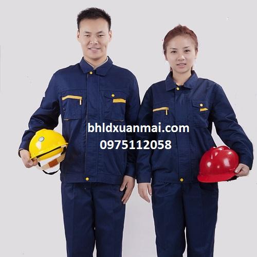 bhldxuanmai.com Quần áo bảo hộ công nhân xm 02