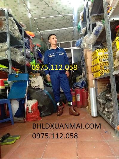 BẢO HỘ XUÂN MAI Quần áo kỹ sư pha màu