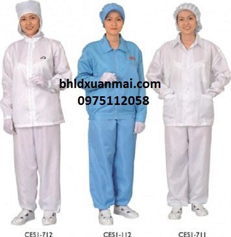 bhldxuanmai.com Quần áo phòng sạch tĩnh điện